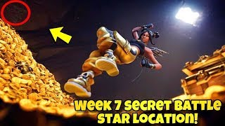 SEASON 8 WEEK 7 LOADING SCREEN SECRET BATTLE STAR LOCATION In Fortnite BR (HIDDEN BATTLE STAR)