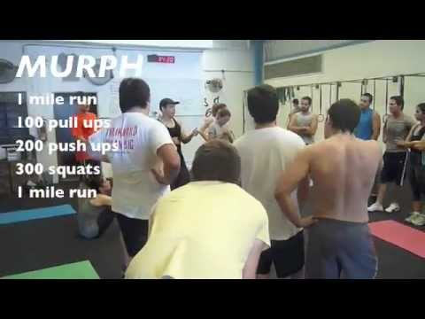 CrossFit Merida MURPH Highlights (short) 180212