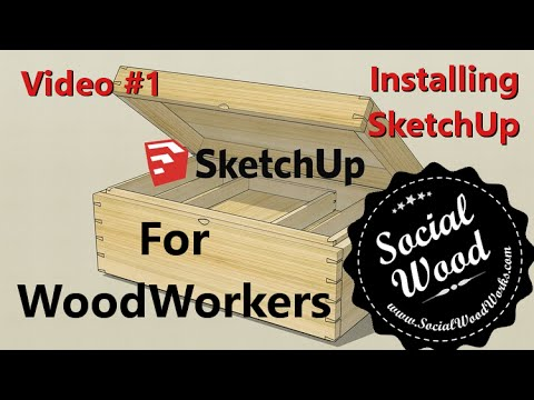 How to use Google SketchUp for Woodworking - Intro