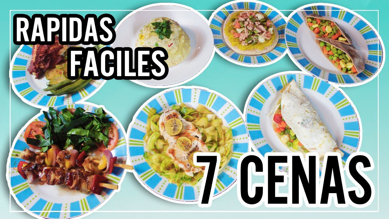 7 cenas saludables faciles economicas y deliciosas l for Comidas faciles y saludables
