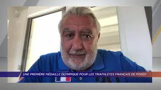 Yvelines | Une première médaille olympique pour le triathlon français