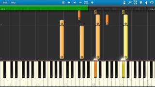 Journey / Mariah Carey - Open Arms - Piano Tutorial - Synthesia