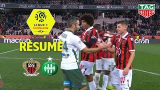 OGC Nice - AS Saint-Etienne ( 1-1 ) - Résumé - (OGCN - ASSE) / 2018-19