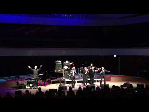 The Manhattan Transfer - Cantaloop (Flip Out!) Live in Moscow 24.10.18