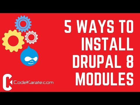 How to Install Drupal 8 Modules | Code Karate