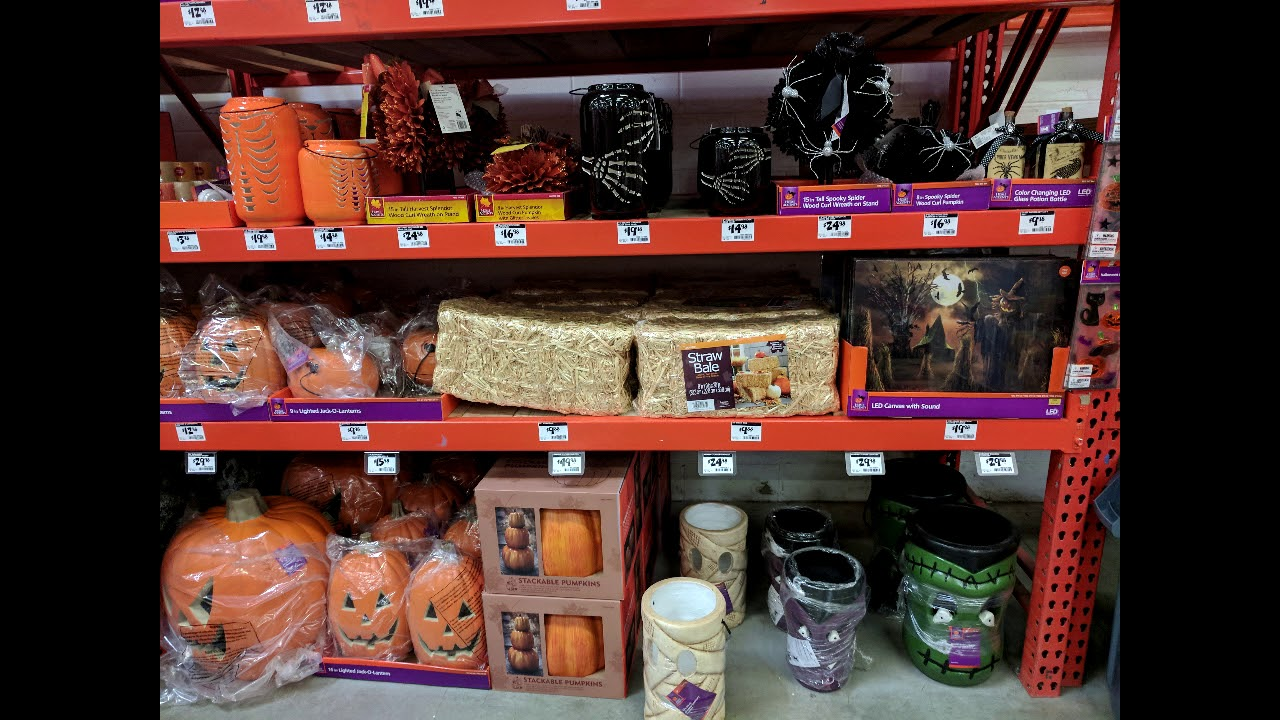 whats in store halloween 2017 kroger gabes gabriel brothers and home depot