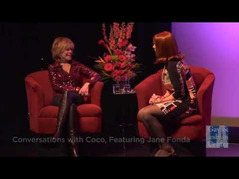 "Coco Peru Interviews Jane Fonda: ""Harvey Milk"" (1/4) 
