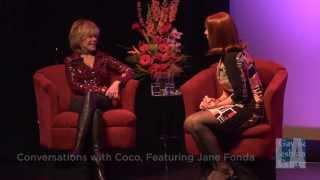 "Coco Peru Interviews Jane Fonda: ""Harvey Milk"" (1/4) | LA LGBT Center"