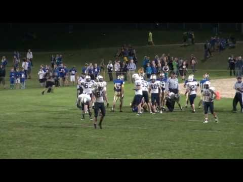 Lakeside Lutheran High School FB: Mahnke, Thiele, Birkholz Highlights 10-13