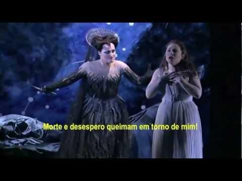 Ária a Rainha da Noite (Mozart) Legendado Pt-BR