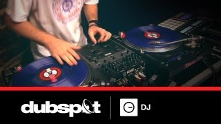 DJ Shiftee :: Backspinning Tutorial @ Dubspot :: Turntablist Party Routine pt.2