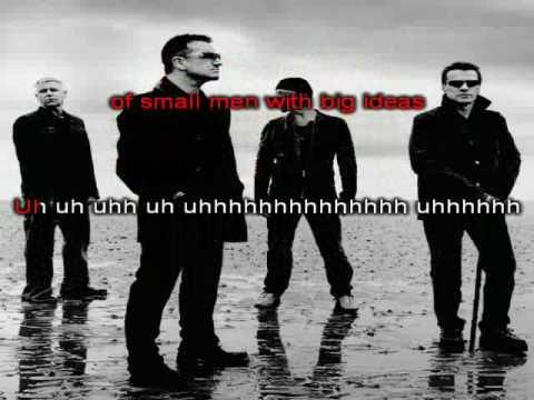 U2 - Stand Up Comedy (Karaoke with Lyrics)