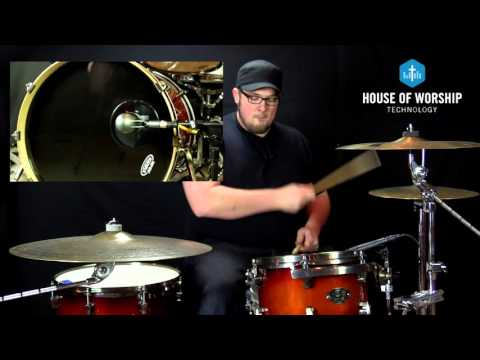 Church Tech Tip Tuesday - Kick Drum Mic Positioning - House Of Worship Technology