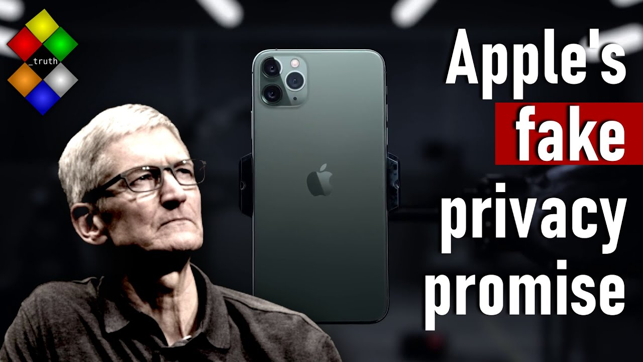 Apple Is Terrible for Your Privacy