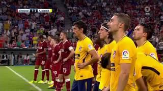Atletico Madrid gegen FC Liverpool   das Elfmeterschießen  Audi Cup 2017 Finale
