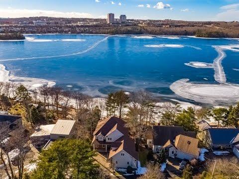 Drone Real Estate video of 25 Boutiliers Lane, Dartmouth Nova Scotia