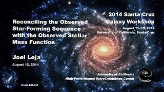 Reconciling the Observed Star-Forming Sequence with the Observed Stellar Mass Function - Joel Leja