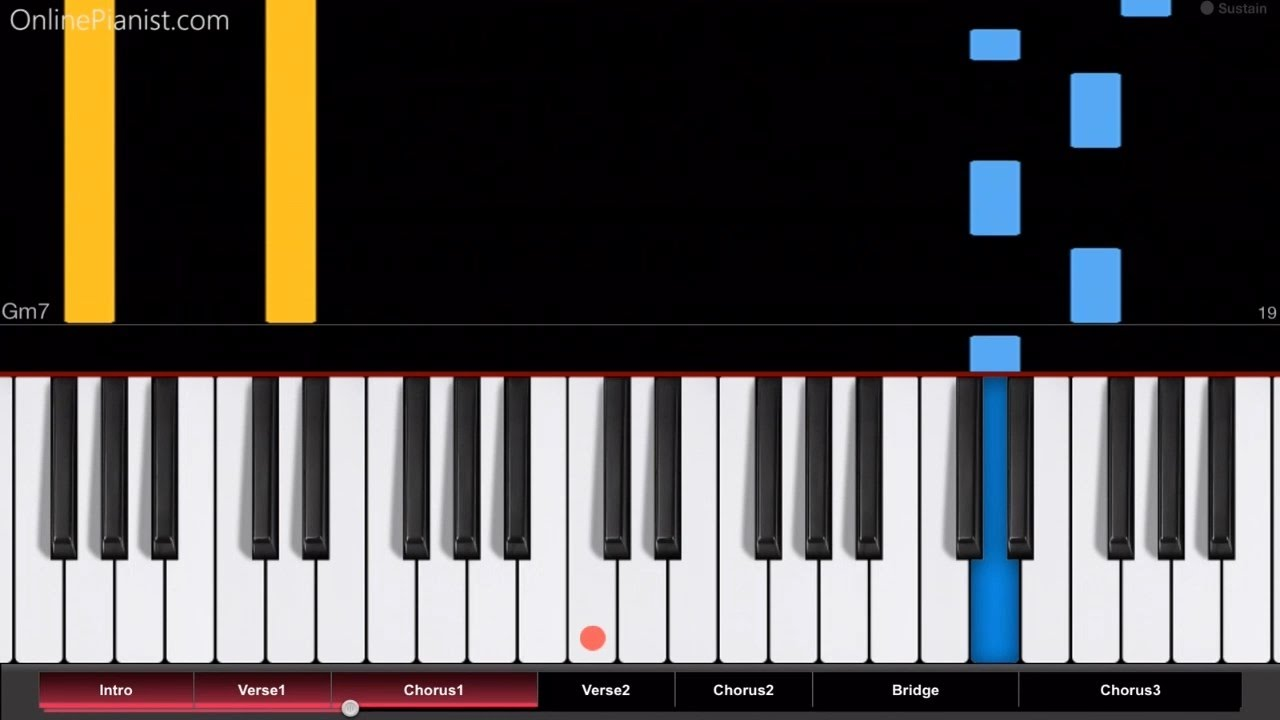 careless whisper piano sheet music pdf
