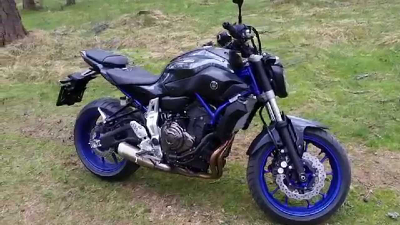 Yamaha Mt 07 Racing Blue