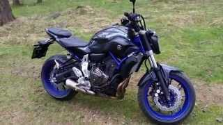My Yamaha MT 07 - Race blu series
