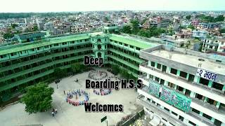 Deep Boarding Higher Secondary School Aerial Footage