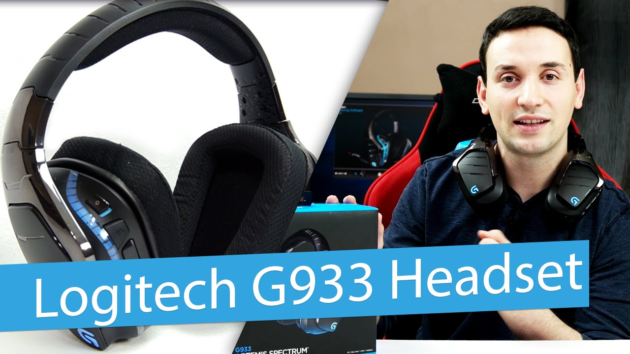 Logitech G933 Wireless 7.1 Surround Sound Gaming Headset Review ... eb7801b25b57