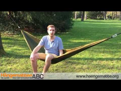 hawk outdoor h ngematte im test youtube. Black Bedroom Furniture Sets. Home Design Ideas