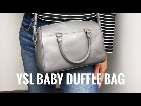 YSL Baby Duffle Bag / Fashionphile Unboxing