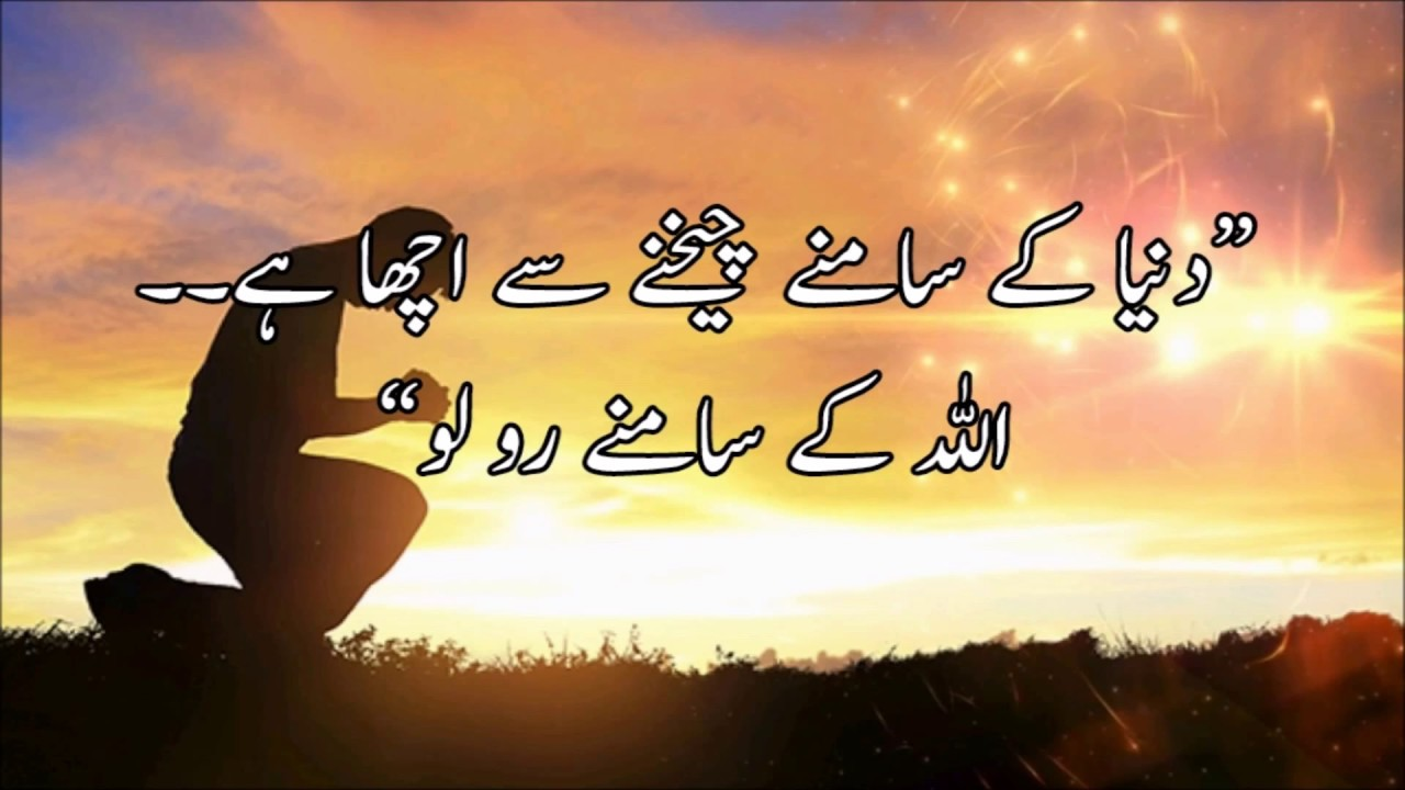 Best Urdu Quote Collection 22 Jan 18 Youtube
