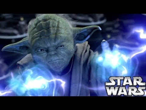 Why Yoda REFUSED To Teach Force Lightning To Jedi  Star Wars Explained