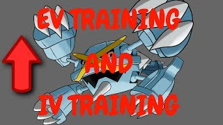 HOW TO EV AND IV TRAIN! (ROBLOX Project: Pokemon)