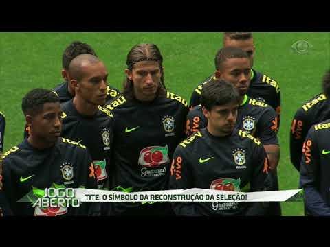 De Olho No Equador, Brasil Treina Na Arena Do Grêmio