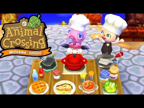Animal Crossing: New Leaf - Welcome amiibo - Franklin's Harvest Festival - 3DS Gameplay Walkthrough