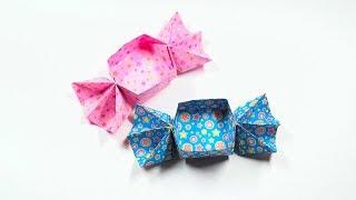 종이접기 캔디박스 origami box