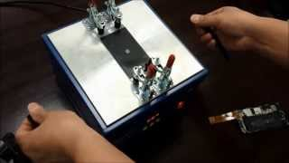 LCD Separator Machine 946D Demo - Removing iPhone 5 Screen Glass