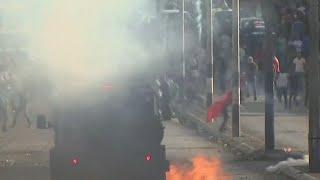 Tear gas vs Molotovs in Bethlehem: West Bank protesters get angrier