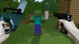 Minecraft: Who's Your Family? - APOCALIPSE ZUMBI NO MINECRAFT REALISTA NA VIDA REAL