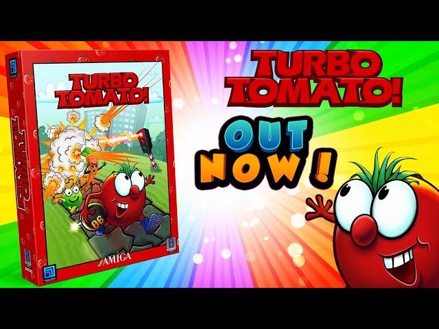 QuickLook [753] Amiga - Turbo Tomato!   -   New Amiga game available July 31st 2021!