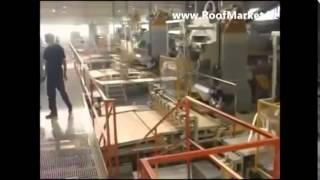 видео Что это такое - керамическая черепица, технология ее производства