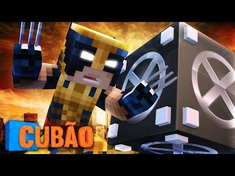 Minecraft: CUBÃO X-MAN APOCALYPSE !!! - Lucky Block PVP