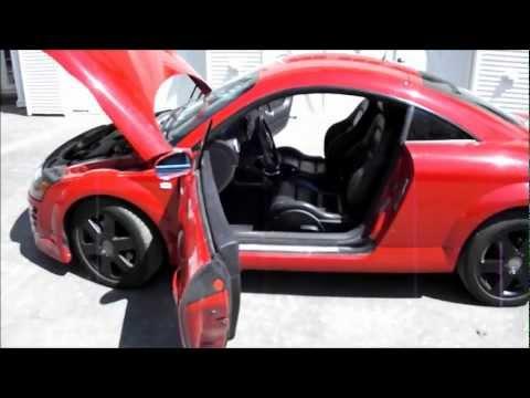 2001 Audi TT AWD 225 HP 6 Speed Manual 1.8T Turbo