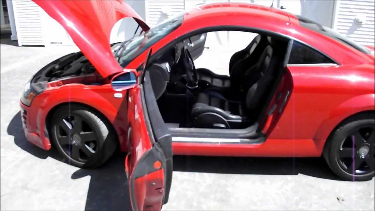 Audi Tt Awd 225 Hp 6 Speed Manual 1 8t Turbo