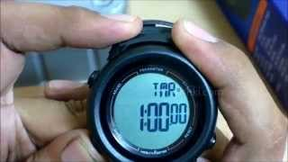HealthSense Pedometer Smart 3D Watch ( PD 102 ) - Unboxing