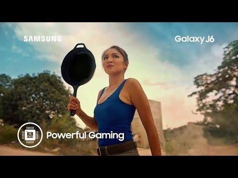 The New Galaxy J6 with Nadine Lustre