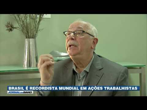 Brasil é recordista mundial em ações trabalhistas