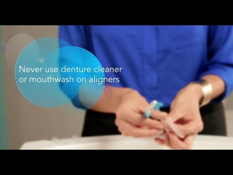 City Smiles DC - Invisalign Aligner Usage & Care