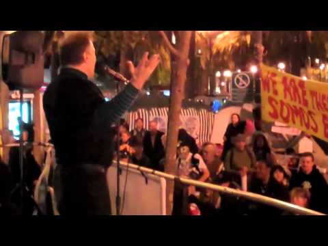 Jello Biafra speaks to Occupy SF