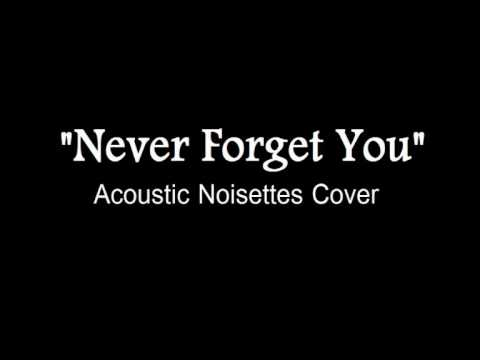 Never Forget You [Acoustic Version] (Instrumental Noisettes cover)