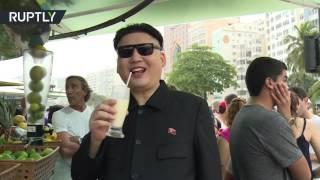 На Олимпиаде в Рио объявился двойник Ким Чен Ына