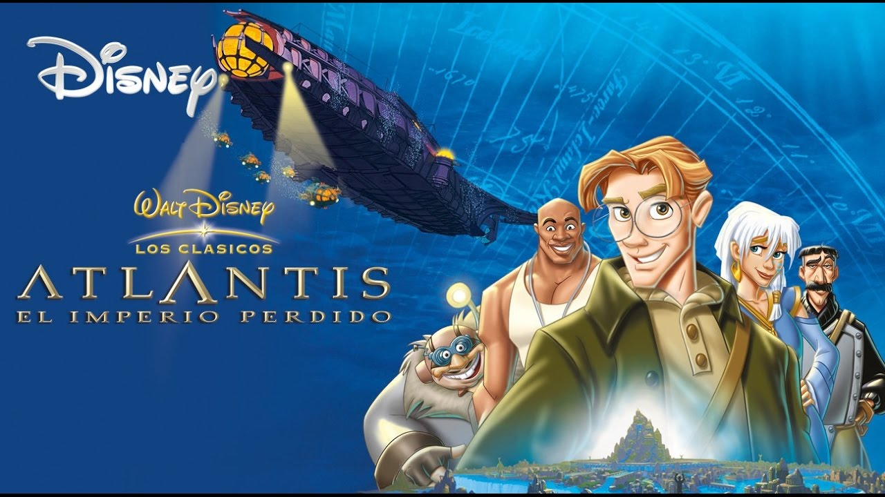 Atlantis el imperio perdido trailer youtube for El mural pelicula online